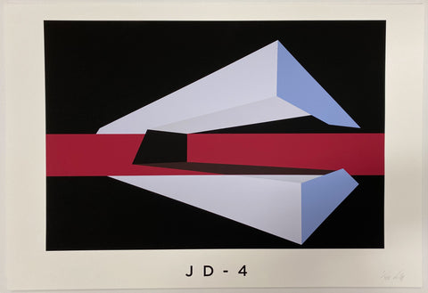 Title: JD-4 .  A2 Framed, Limited Edition Giclee Print