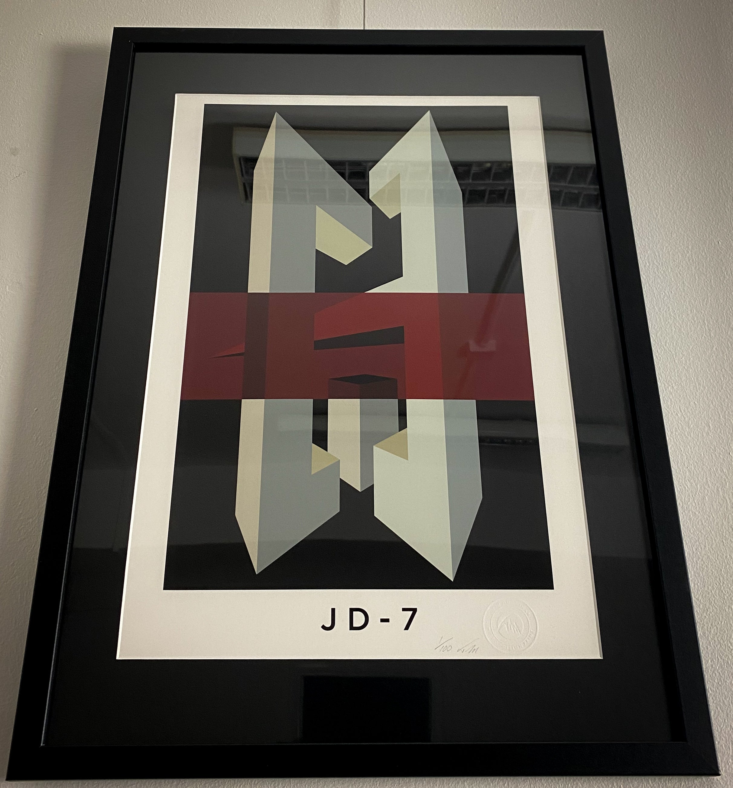 JD 7. Limited Edition Giclee Print