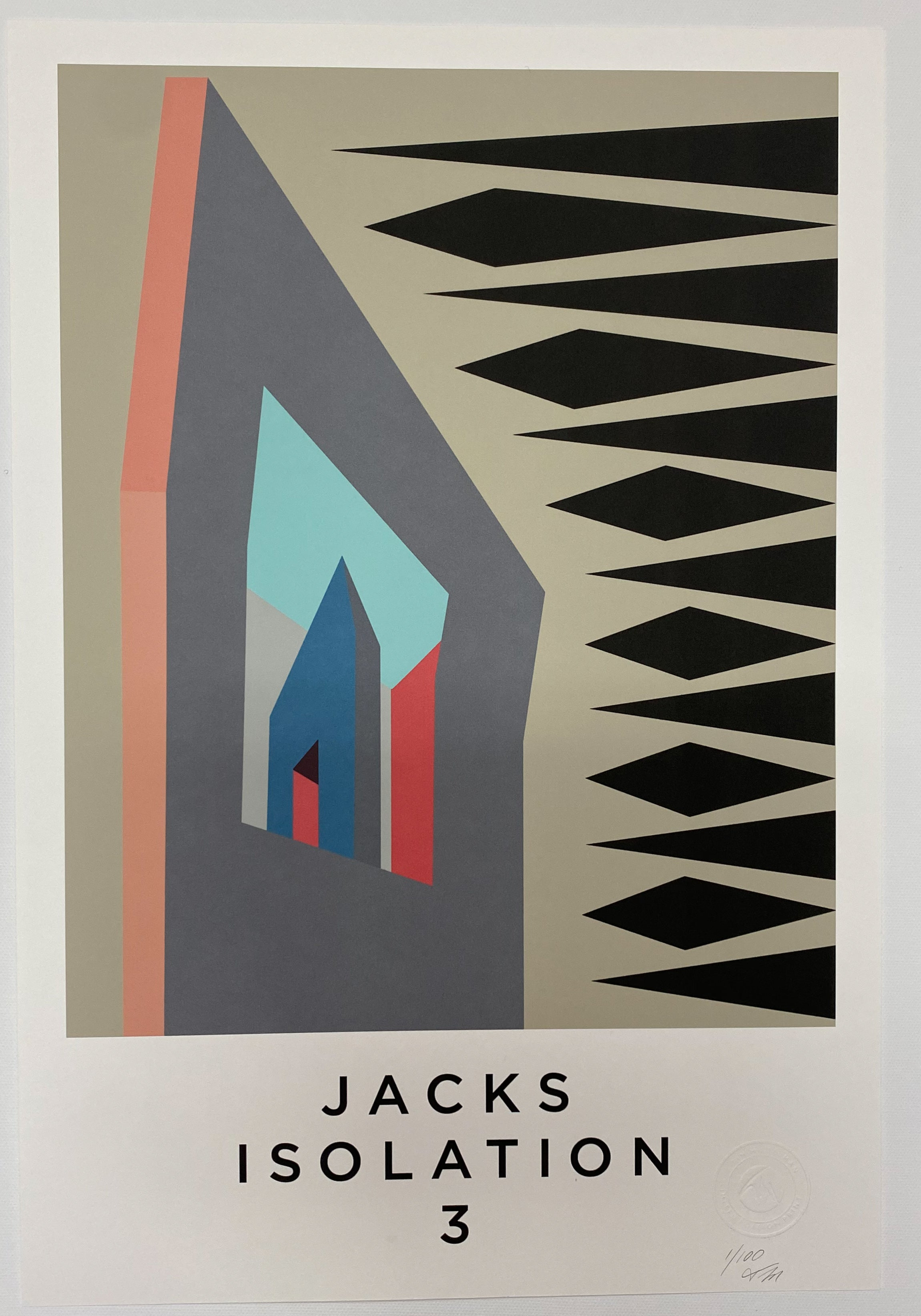 JACKS ISOLATION. Limited Edition Giclee Print