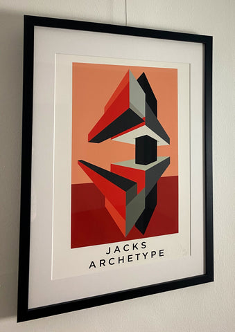 Jacks Archetype 1 Ltd Edition Giclee Print.Available in two sizes