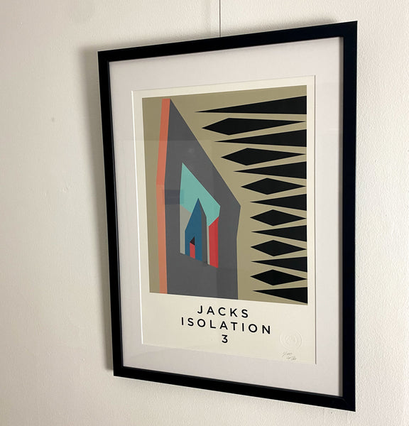 Title: JACKS ISOLATION .  A2 Framed, Limited Edition Giclee Print