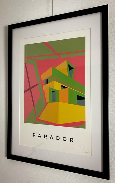 Title: PARADOR  .  A2 Framed, Limited Edition Giclee Print