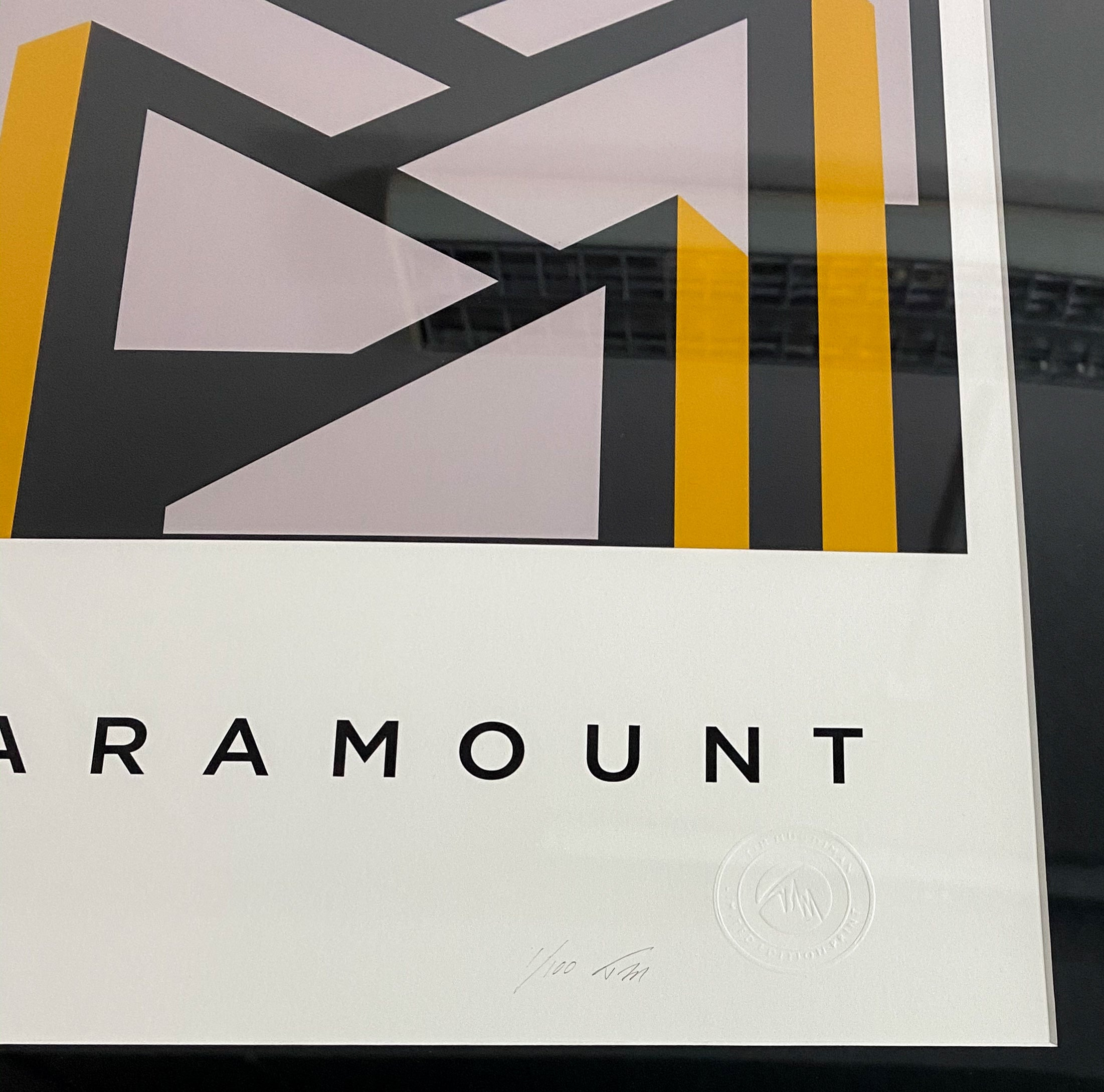 PARAMOUNT.  Limited Edition Giclee Print