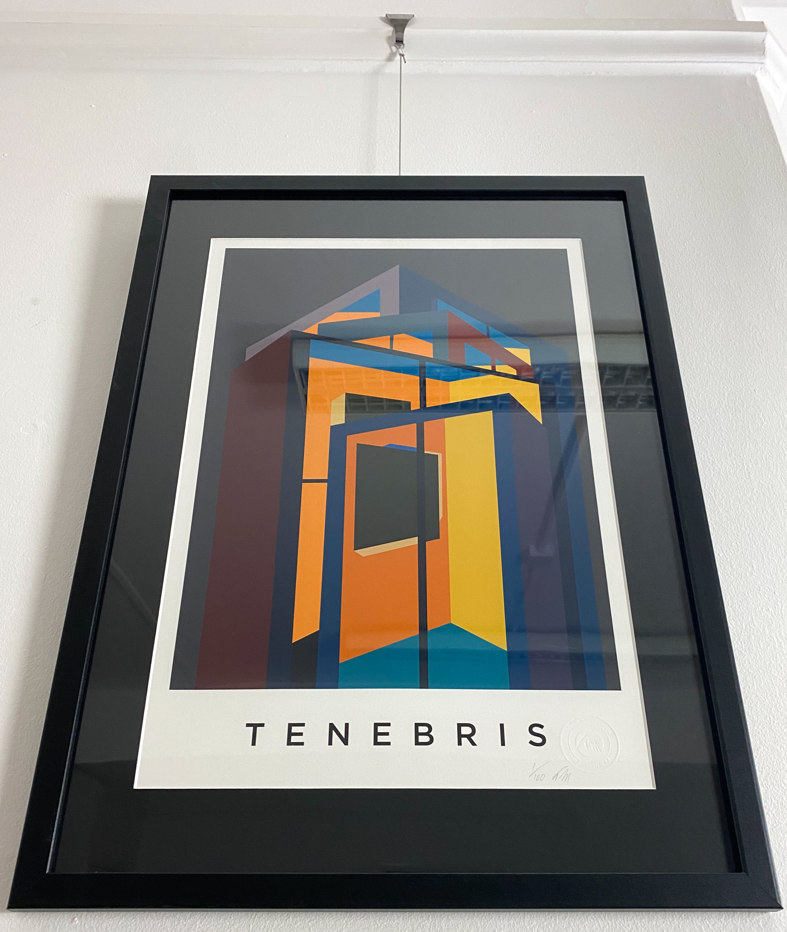 TENEBRIS.  Limited Edition Giclee Print