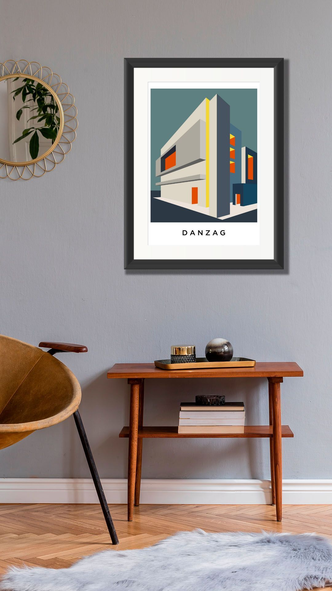 Danzag . Limited Edition Giclee Print