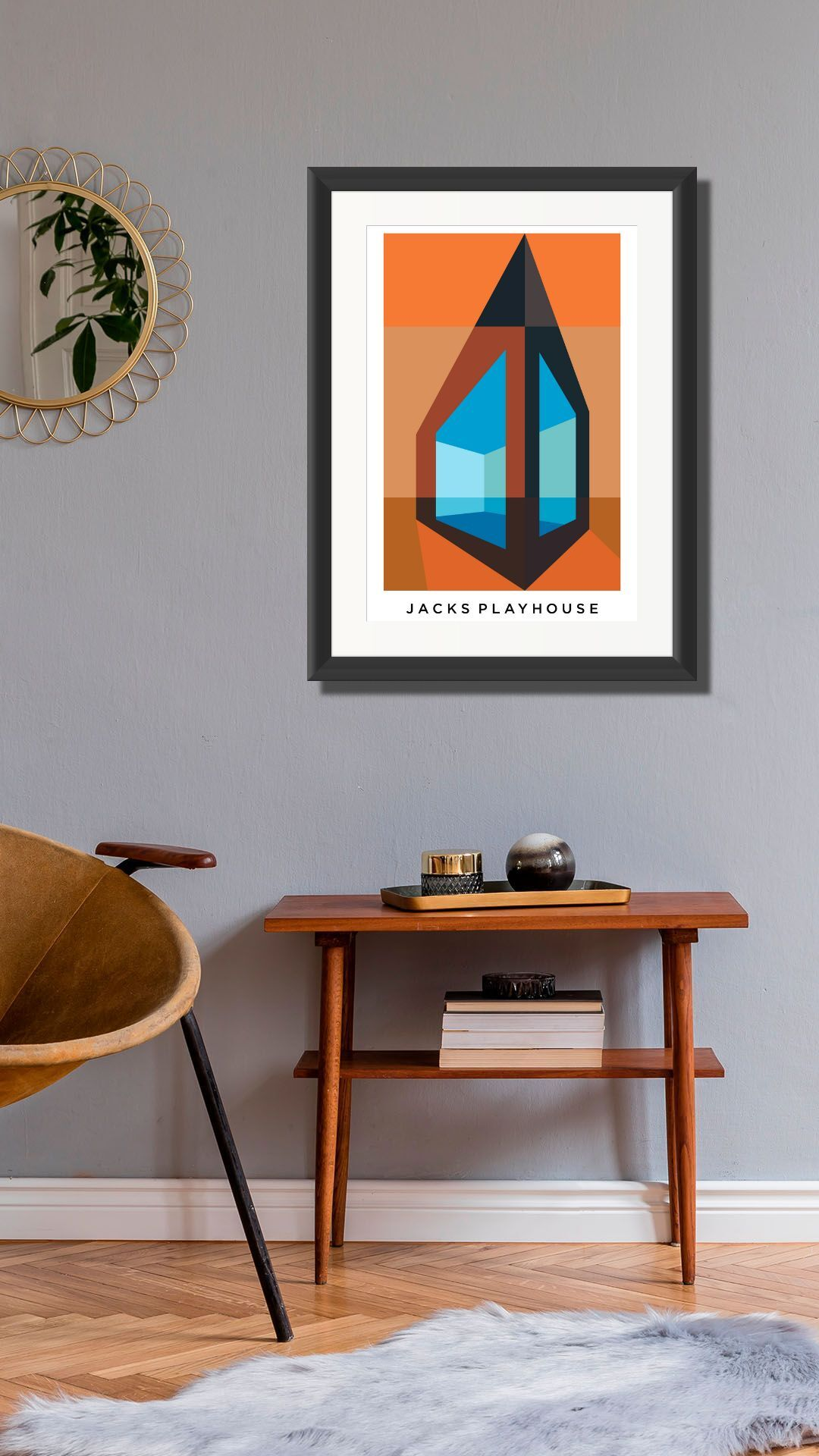 Jacks Playhouse. Limited Edition Giclee Print