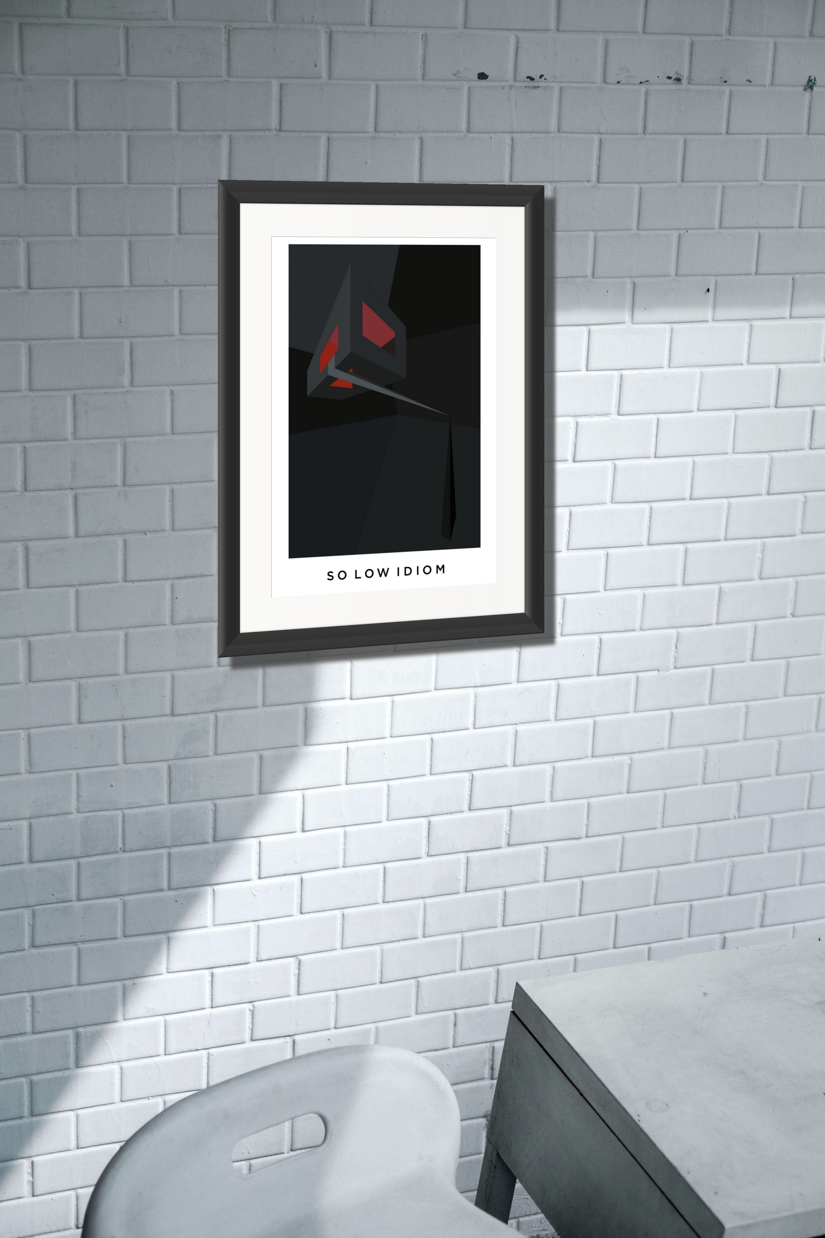 So low Idiom. Limited Edition Giclee Print