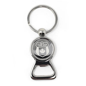 THE TRAGICALLY HIP Bottle Opener Keychain