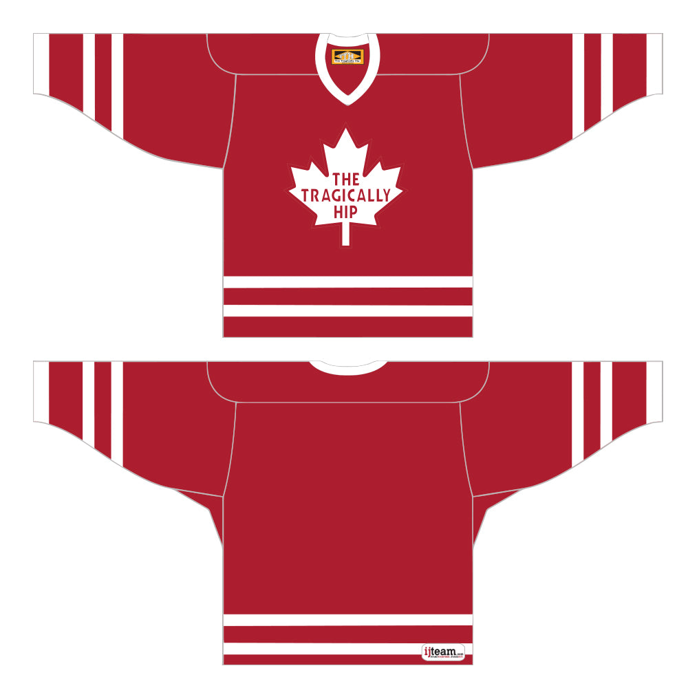 THE TRAGICALLY HIP Home Hip Hockey Jersey