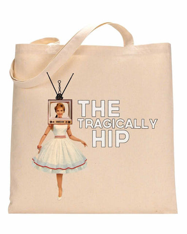 THE TRAGICALLY HIP Heavy Duty Canvas Tote Bag