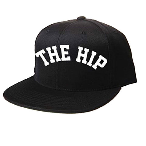 THE TRAGICALLY HIP The Hip Logo Snap-back Black Hat