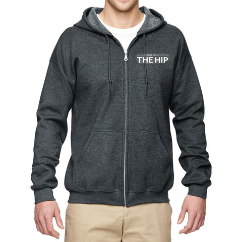 THE TRAGICALLY HIP Crest Zip Hoodie