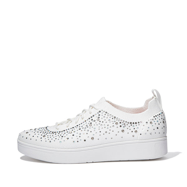 RALLY OMBRE CRYSTAL KNIT SNEAKERS