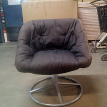 Load image into Gallery viewer, Brown Swivel Studio Chair