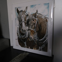Load image into Gallery viewer, Two Horses