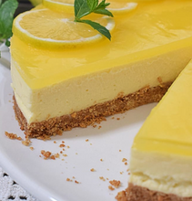 Load image into Gallery viewer, Lemon cheesecake