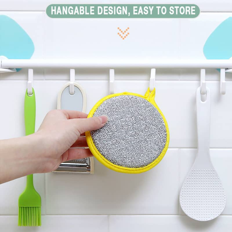 Double-sided Magic Dishwashing Brush
