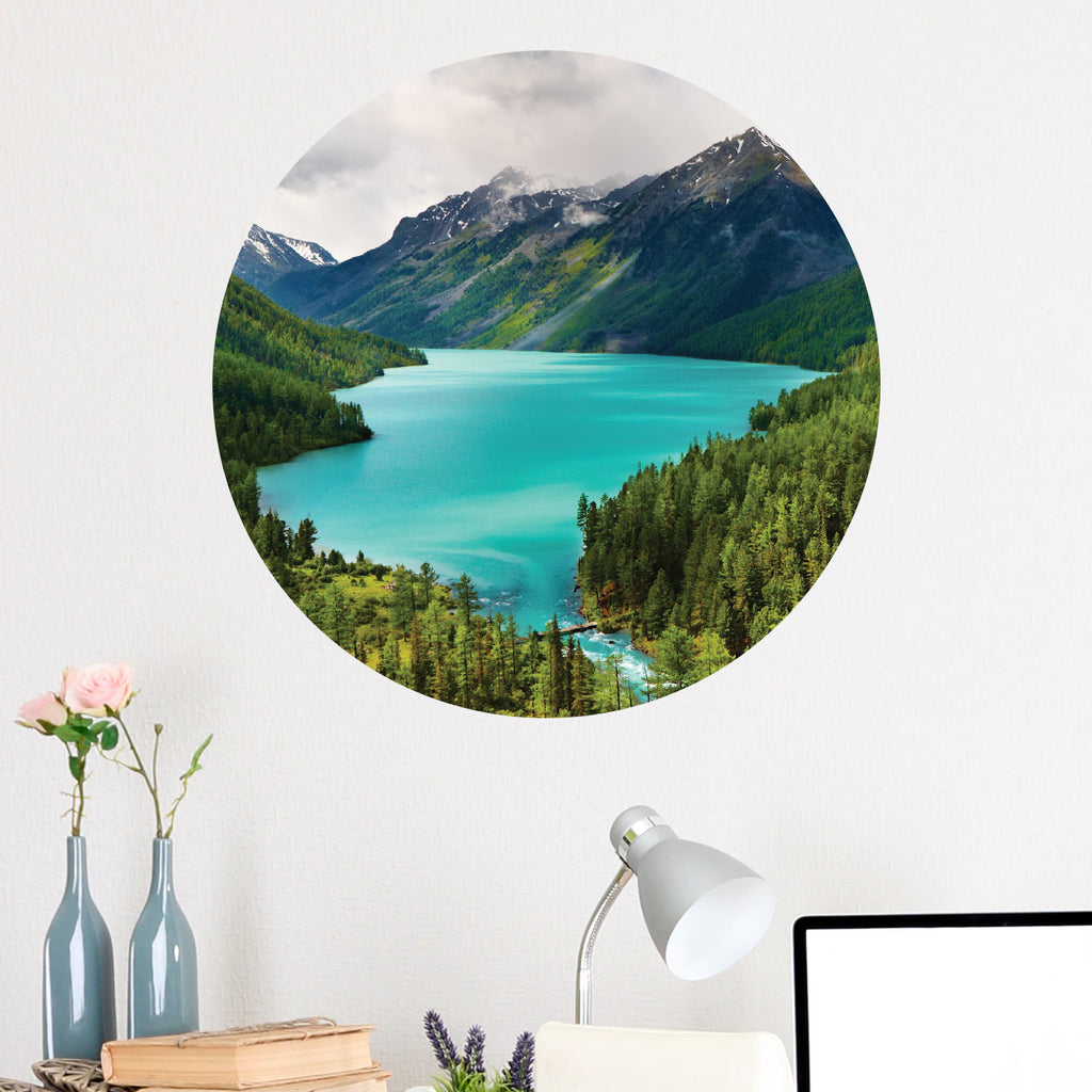 Perfect Wilderness Circle Wall Decal