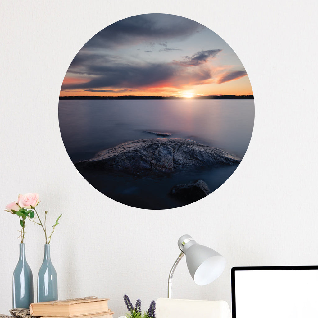 Mystic Sunset Wall Decal