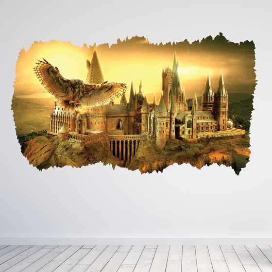 Harry Potter Hogwarts 3D Wall Sticker