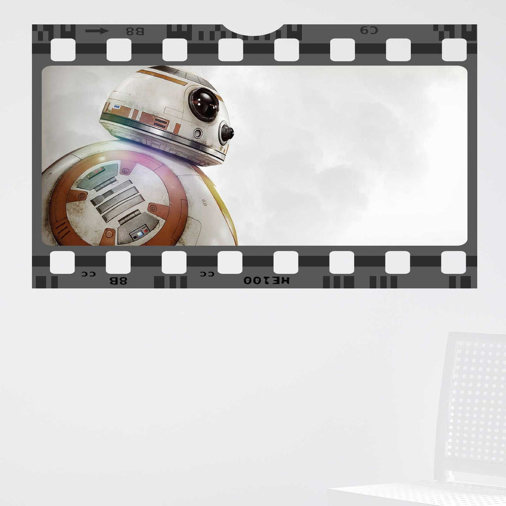 Star Wars BB8 Film Cell Wall Sticker