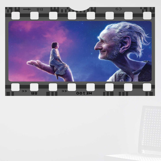The BFG Film Cell Wall Sticker
