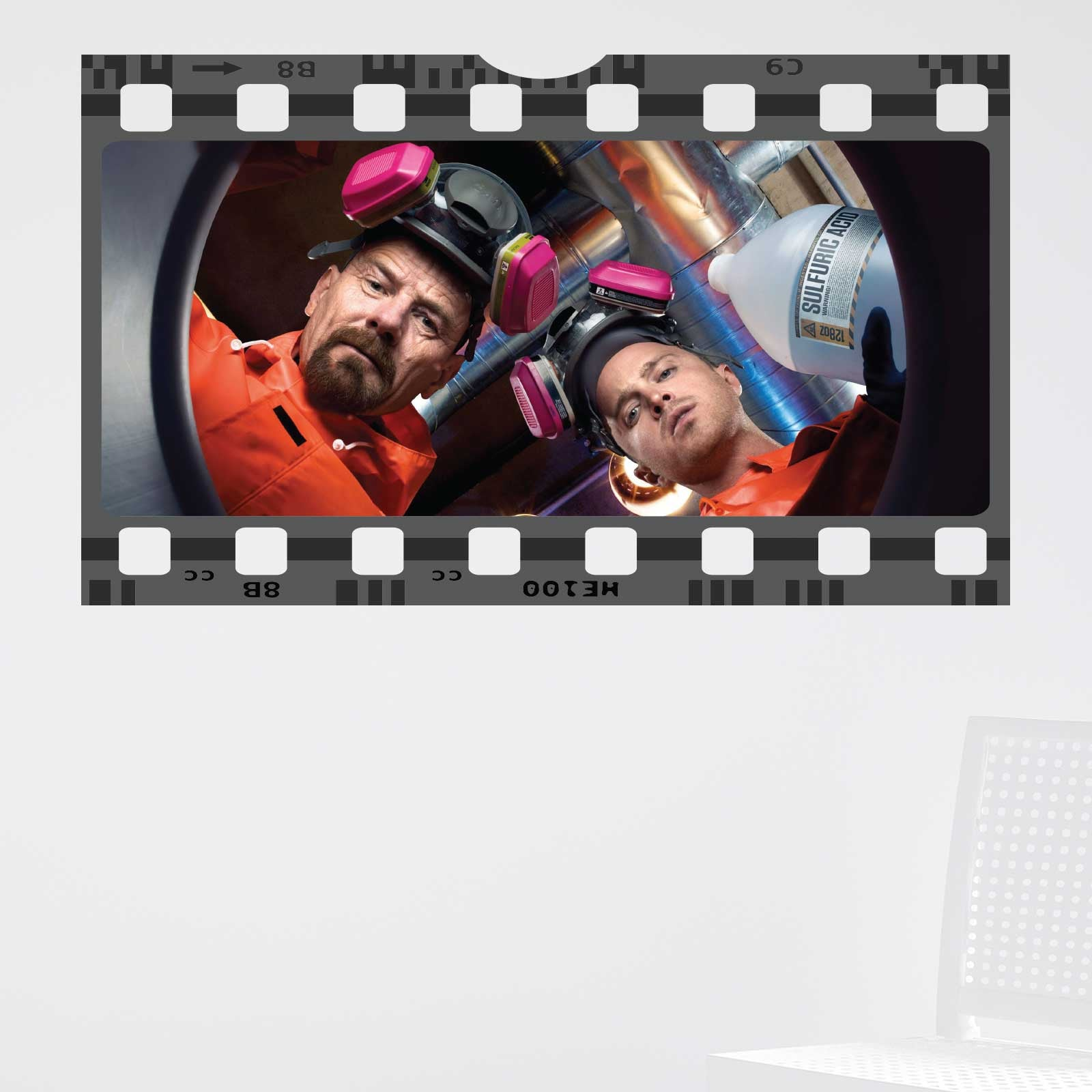 Breaking bad film cell wall sticker wallstickers breaking bad film cell wall sticker amipublicfo Choice Image