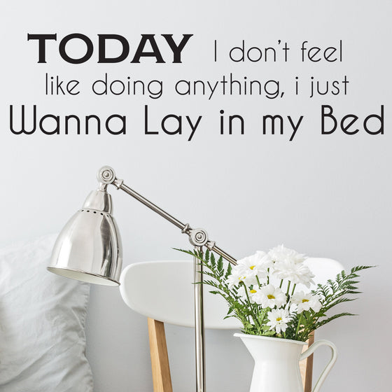 Bruno Mars Lazy Song Wall Sticker
