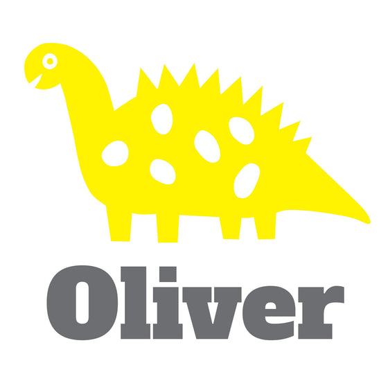 Personalised Dinosuar Wall Sticker