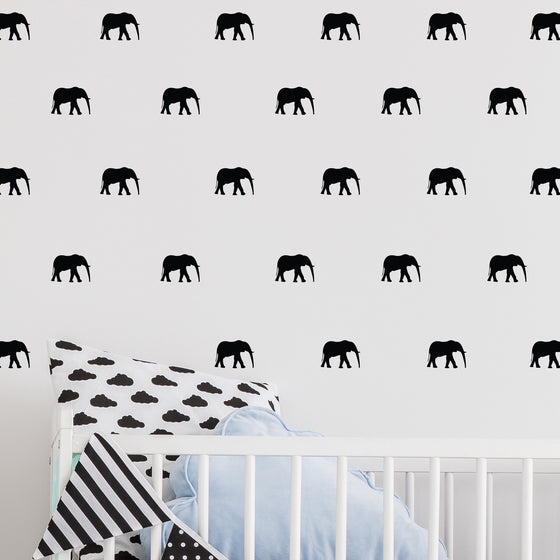 Mini Elephant Wall Stickers
