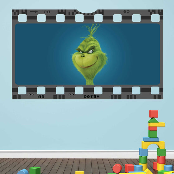 The Grinch Film Cell Wall Sticker