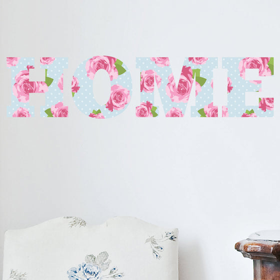 Home Shabby Chic Vintage Floral Wall Sticker