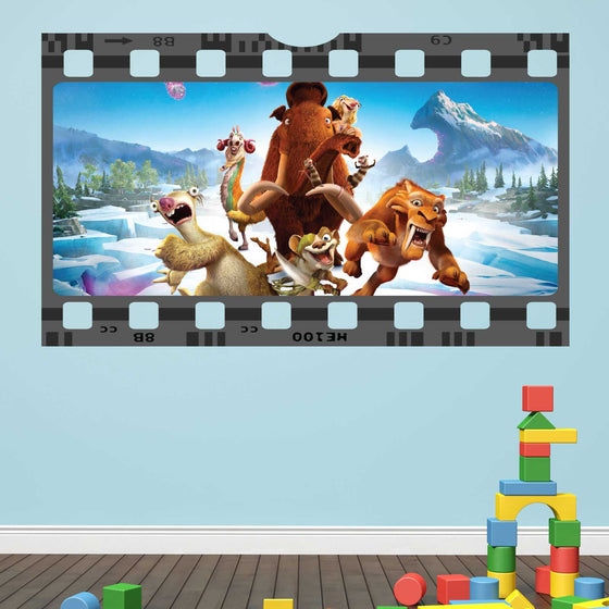 Ice Age Film Cell Wall Sticker