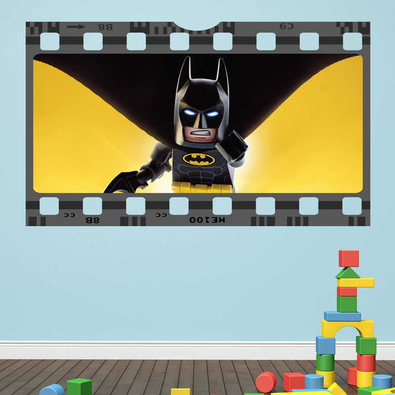 Lego Batman Film Cell Wall Sticker