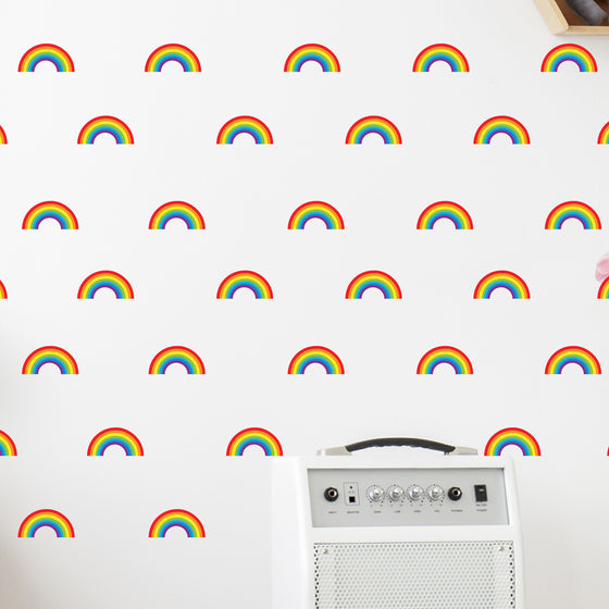 Mini Rainbow Wall Stickers