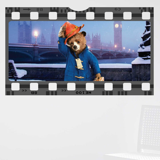Paddington Bear Film Cell Wall Sticker