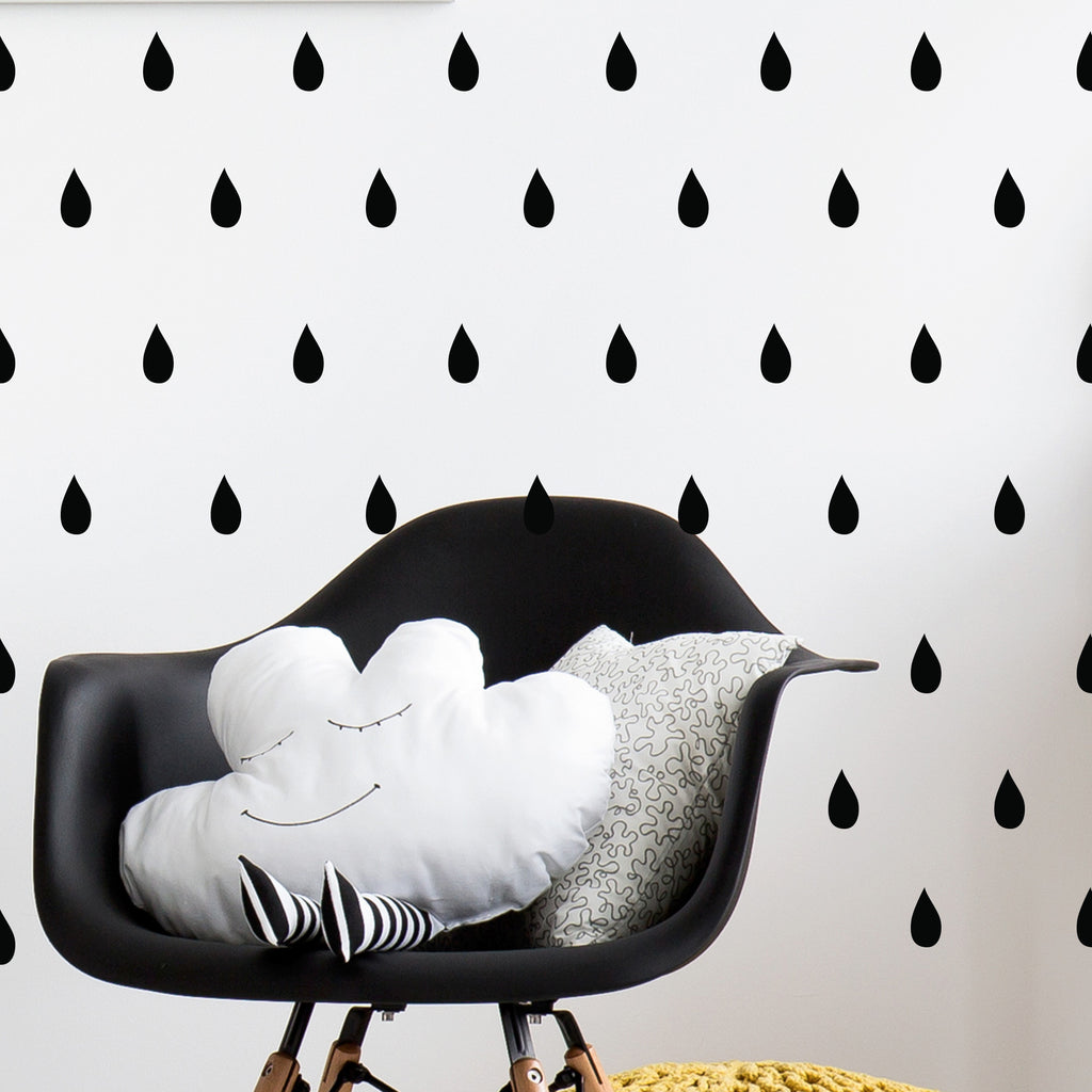 Mini Raindrop Wall Stickers
