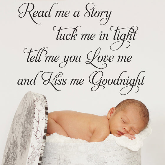 Read me a Story Nursery Wall Sticker