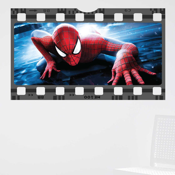 Spiderman Film Cell Wall Sticker