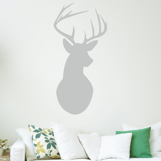 Stags Head Wall Sticker