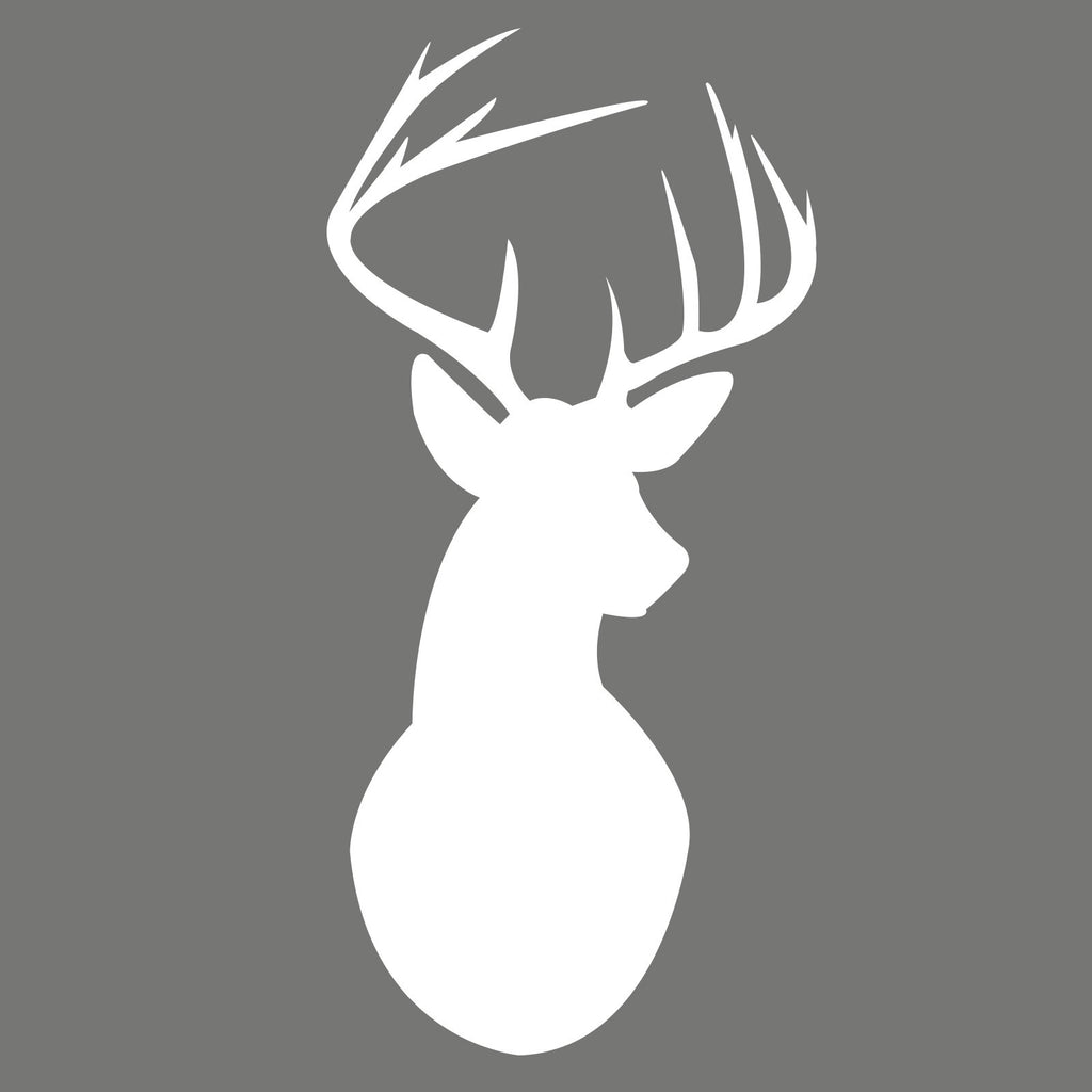 Stags Head Wall Decal