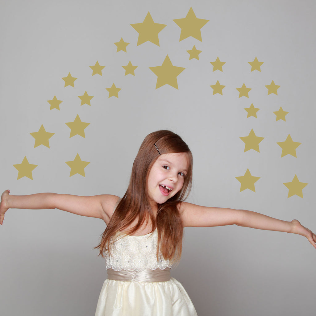 Set of Stars Wall Stickers