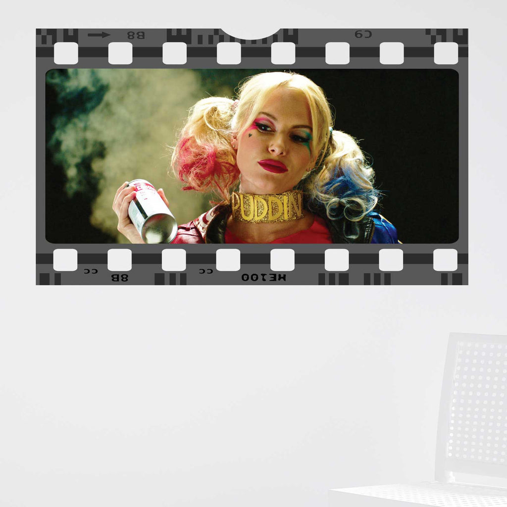 Suicide Squad Harley Quinn Film Cell Wall Sticker