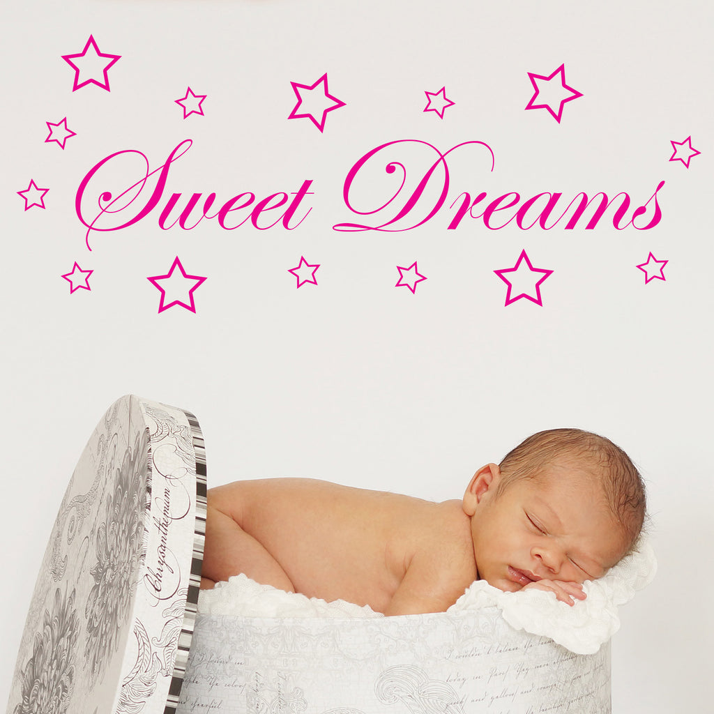 Sweet Dreams Nursery Wall Sticker