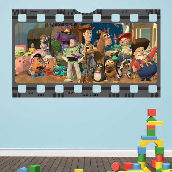 Toy Story Film Cell Wall Sticker