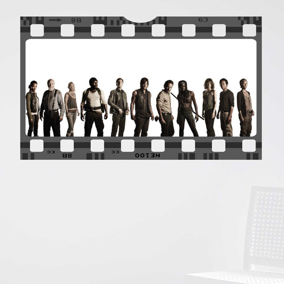 The Walking Dead Film Cell Wall Sticker