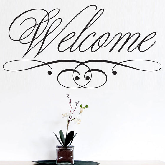 Welcome Chic Wall Sticker
