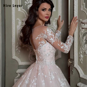 Robe De Mariee Princesse De Luxe 2020 Shiny Beading Crystal Waist Luxury Lace Ball Gown Wedding Dresses