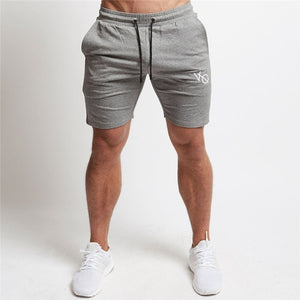 Cotton casual street clothing men's shorts jogging fitness men's sports pants brand sportswear bodybuilding men's clothing