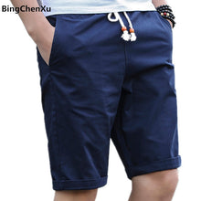 Load image into Gallery viewer, New short men Summer Shorts Men Casual fashion Mens Breathable short pants Cotton Shorts Man New Fashion Brand joggers male 01